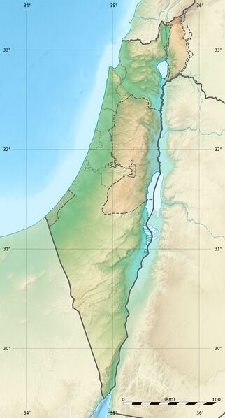 Datei:Israel relief location map.jpg